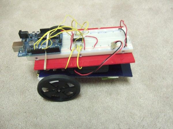 Arduino Controlled L293D Robot ( Part 1 - Update 1.0 )