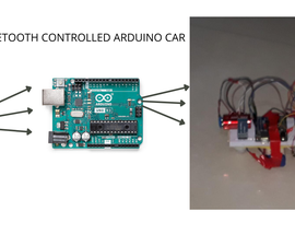Bluetooth Arduino UNO Car