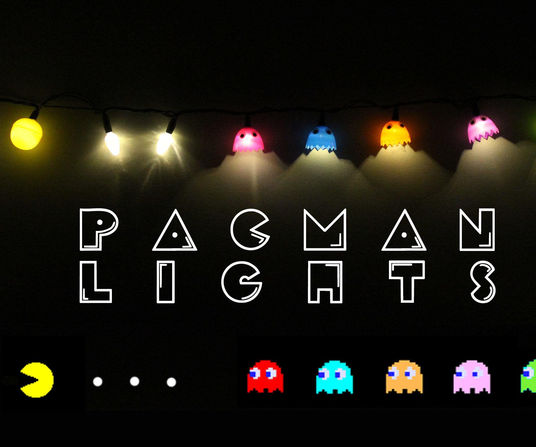Pacman String Lights