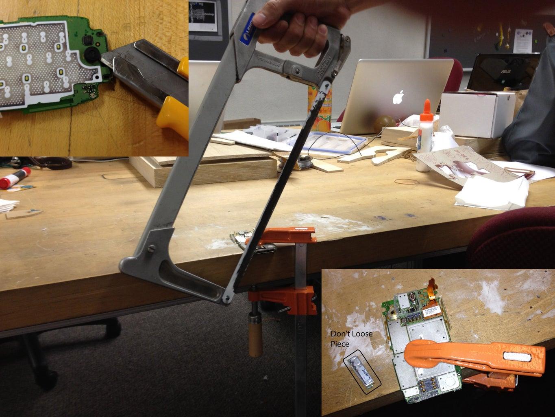 Preparing Phone Pieces