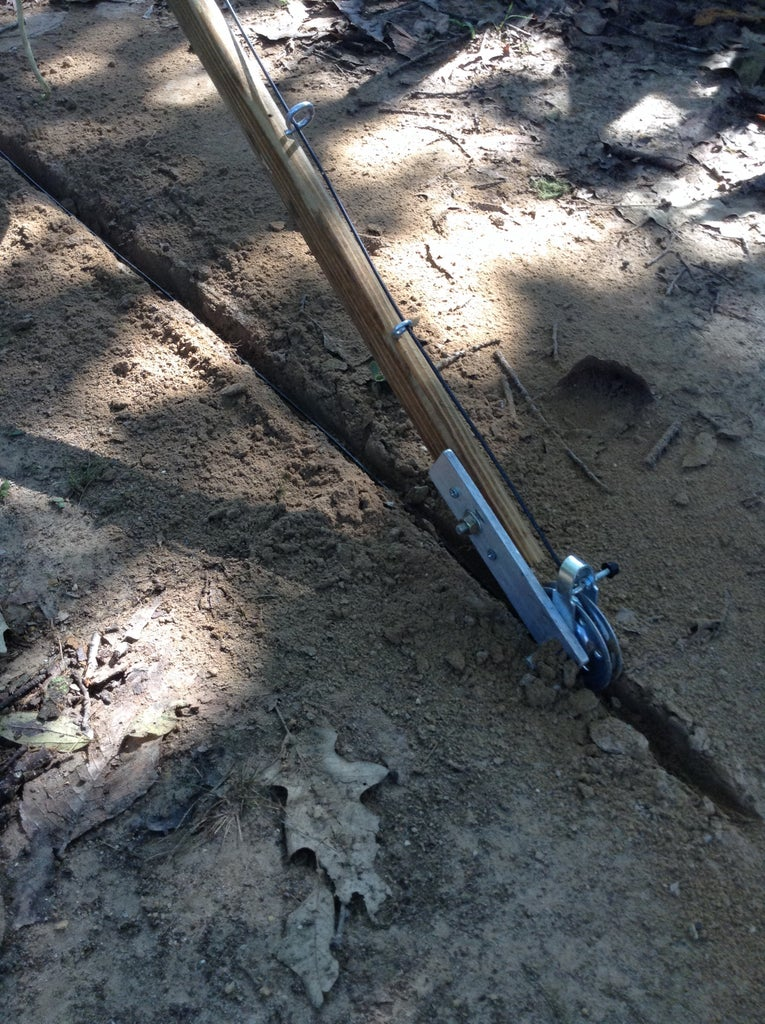 Install the Wire Into the Trench