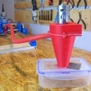 3D Printed Vacuum Cleaner for a CNC Machine
