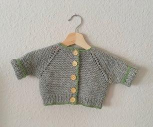 Hand-knit Chunky Cardigan