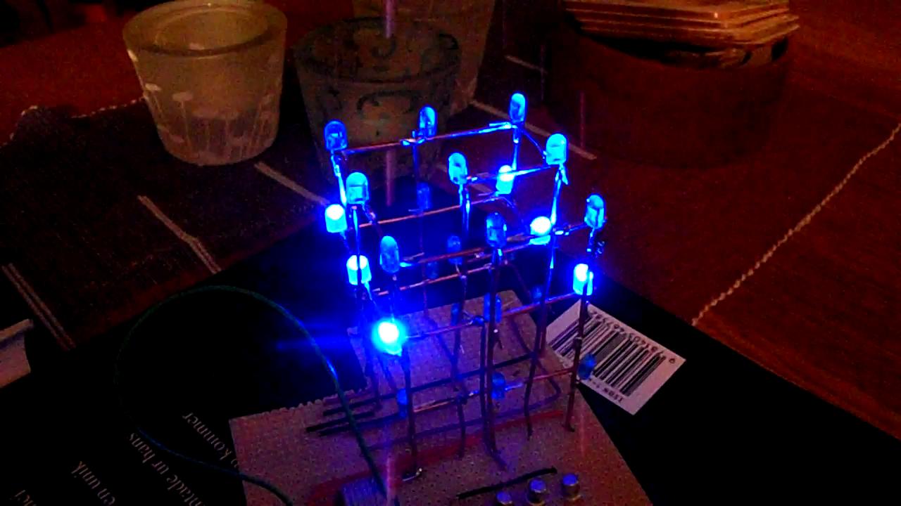 3X3 LED Cube Programming tips (Arduino based)