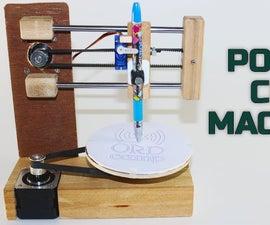 How to Make Polar CNC Drawing Machine