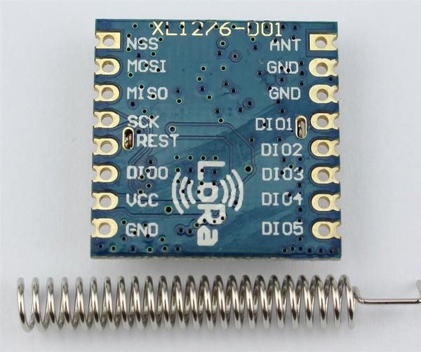 Get Started With XL1276-D01 LoRa (433MHz SPI) Using NodeMCU DevKit 1.0