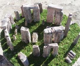 How to Make Stonehenge Landscape Diorama