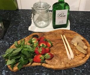 杜松子酒infusions为你的生活中的gin情人