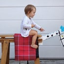 Wooden Toy Horse from Pallet and an IKEA Trestle