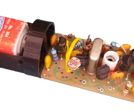The TRANSROC - a Retro Model Rocket Telemetry Transmitter