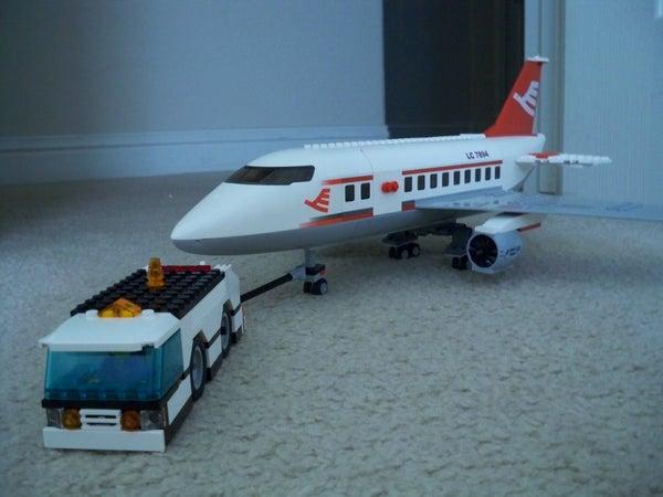 LEGO Airplane Tug