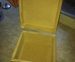 Quick and Easy Mitered Box With a Lid - I Made It at TechShop