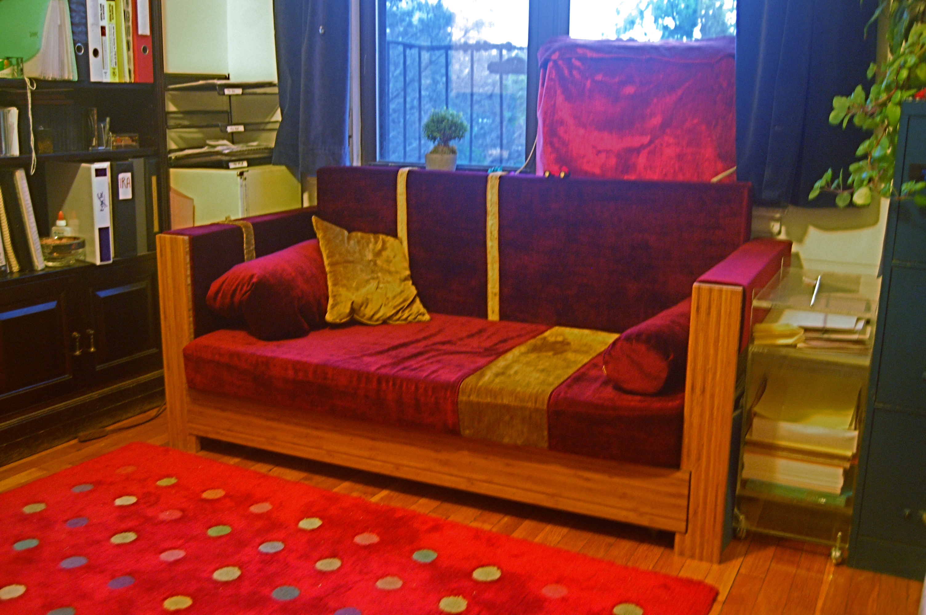 The impossible sofa bed