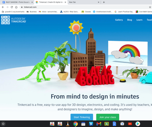 Step One Login to Tinkercad and Hit the Button Make New Design