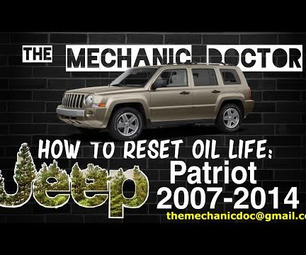 How to Reset Oil Life: Jeep Patriot 2007-2014