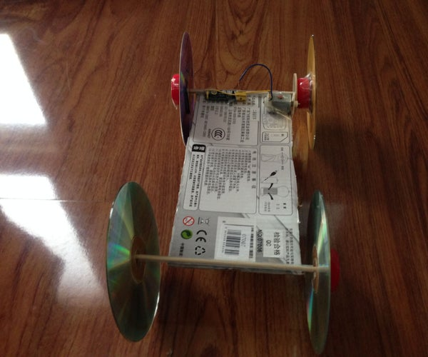 Using Home Materials to Build Car Toy