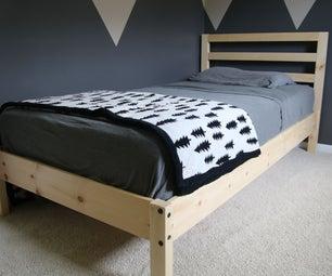 DIY Twin Bed