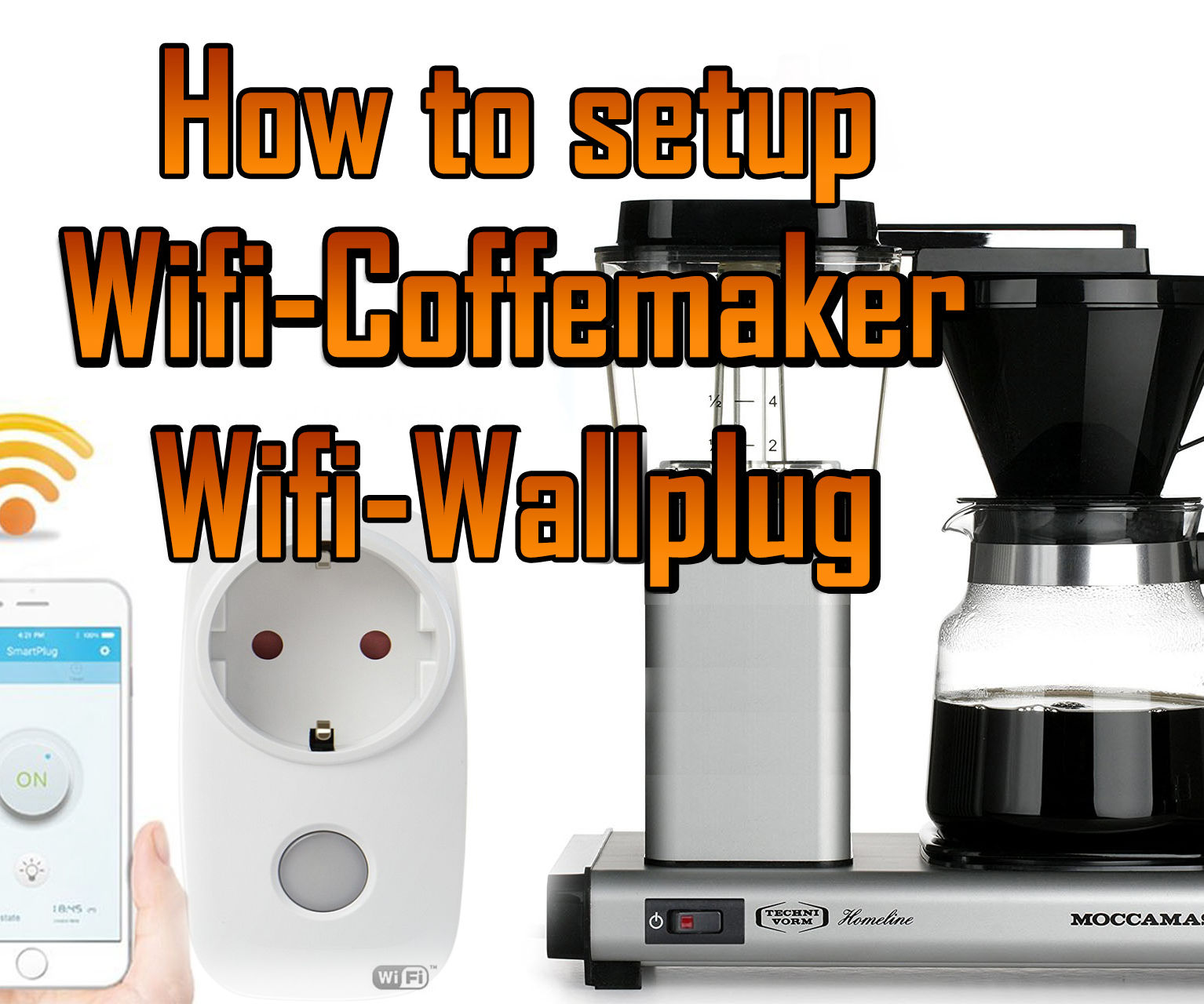 How to Make Coffemaker / Percolator WI-FI Controlled