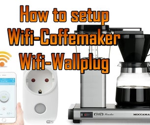 How to Make Coffeemaker / Percolator WI-FI Controlled
