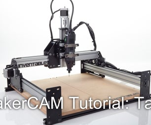 How to Setup Tabs in MakerCAM