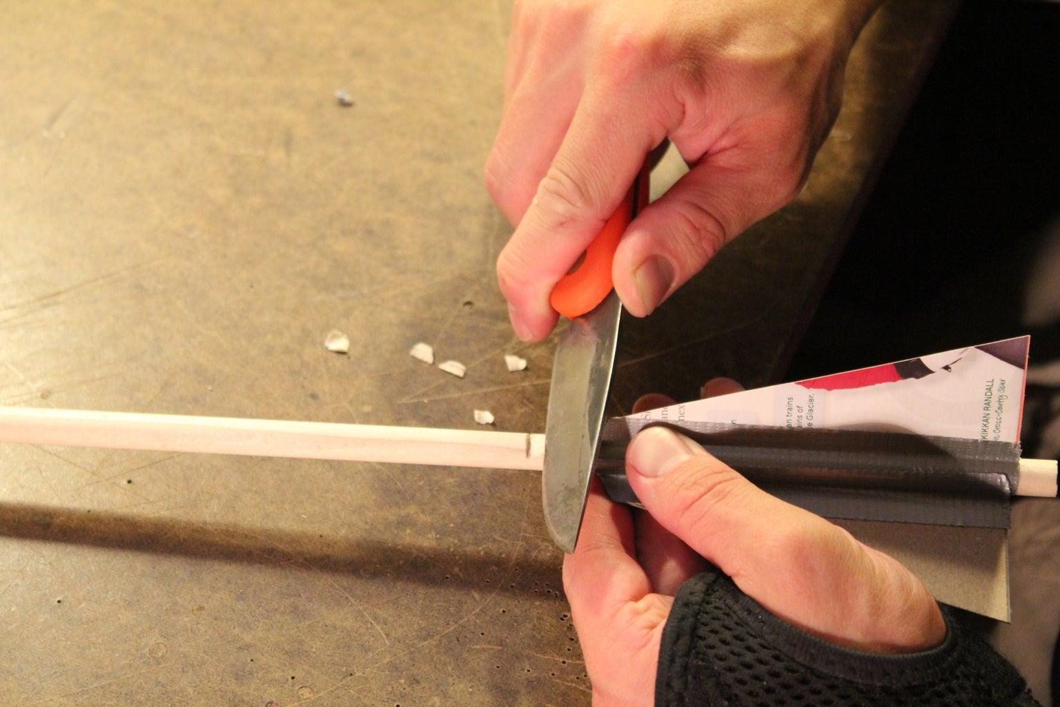 Cutting the Notch