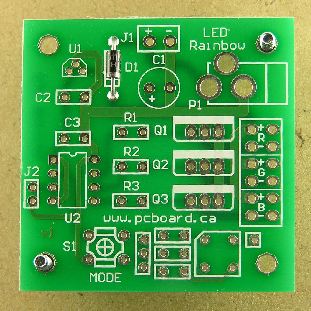 Assembly Step 1: Diode D1