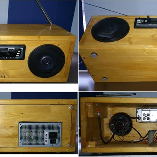 Car Stereo PC Power Supply Mod With Pizzazz
