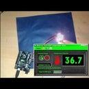 Arduino & C# - LM35 Temperature Sensor C# Application Arduino (OPEN SOURCE)