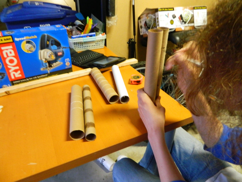 Making the Flow Straightener