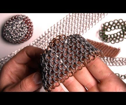 Make a Simple Chainmail Cuff Bracelet