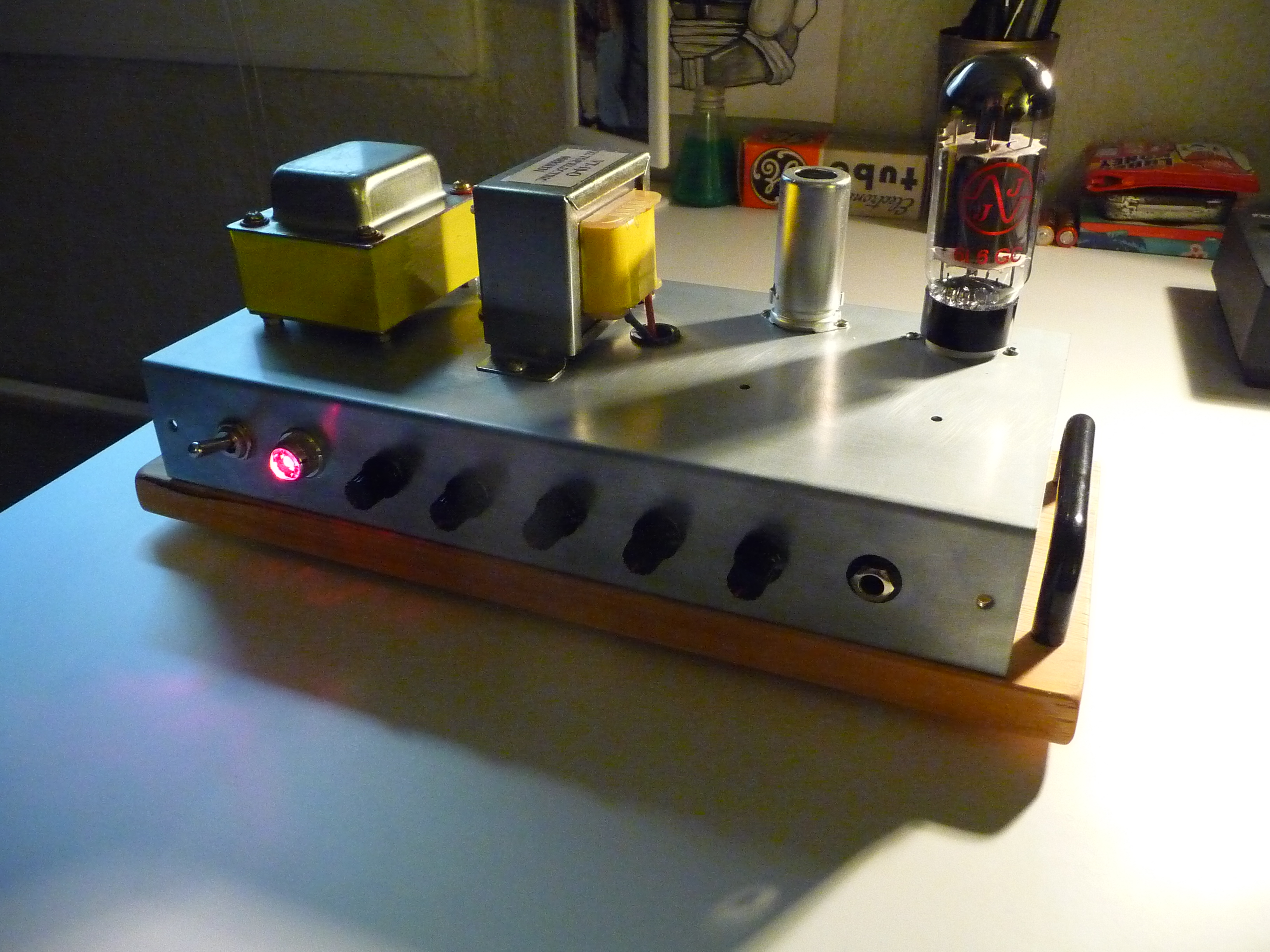 How to turn a guitar tube amp into a preamp/distortion unit (with load box)
