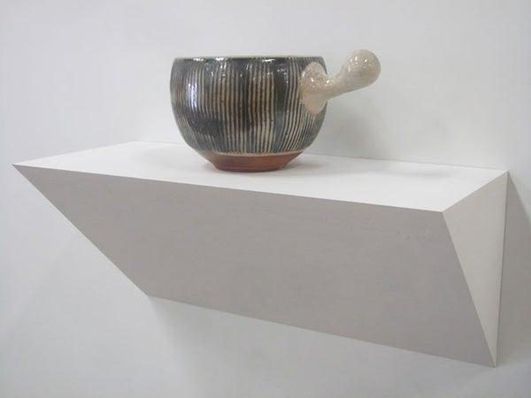 Wall Pedestal/Gallery Shelf