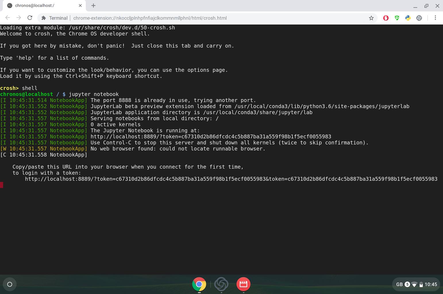 Python Code Development on Jupyter Notebook