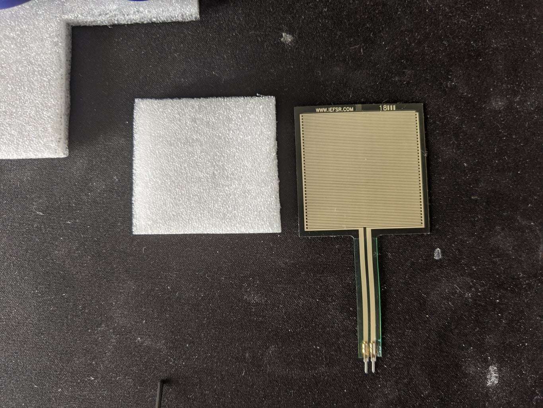 Create Foam-Casing for the Sensor