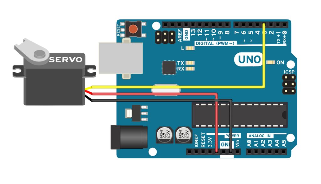 Arduino Servo Motors : 5 Steps (with Pictures) - InstructablesInstructables
