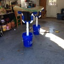 PVC Surfboard Shaping Rack / Ding Repair Stand