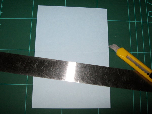 Card Making Basics: Cutting and Carving a Card