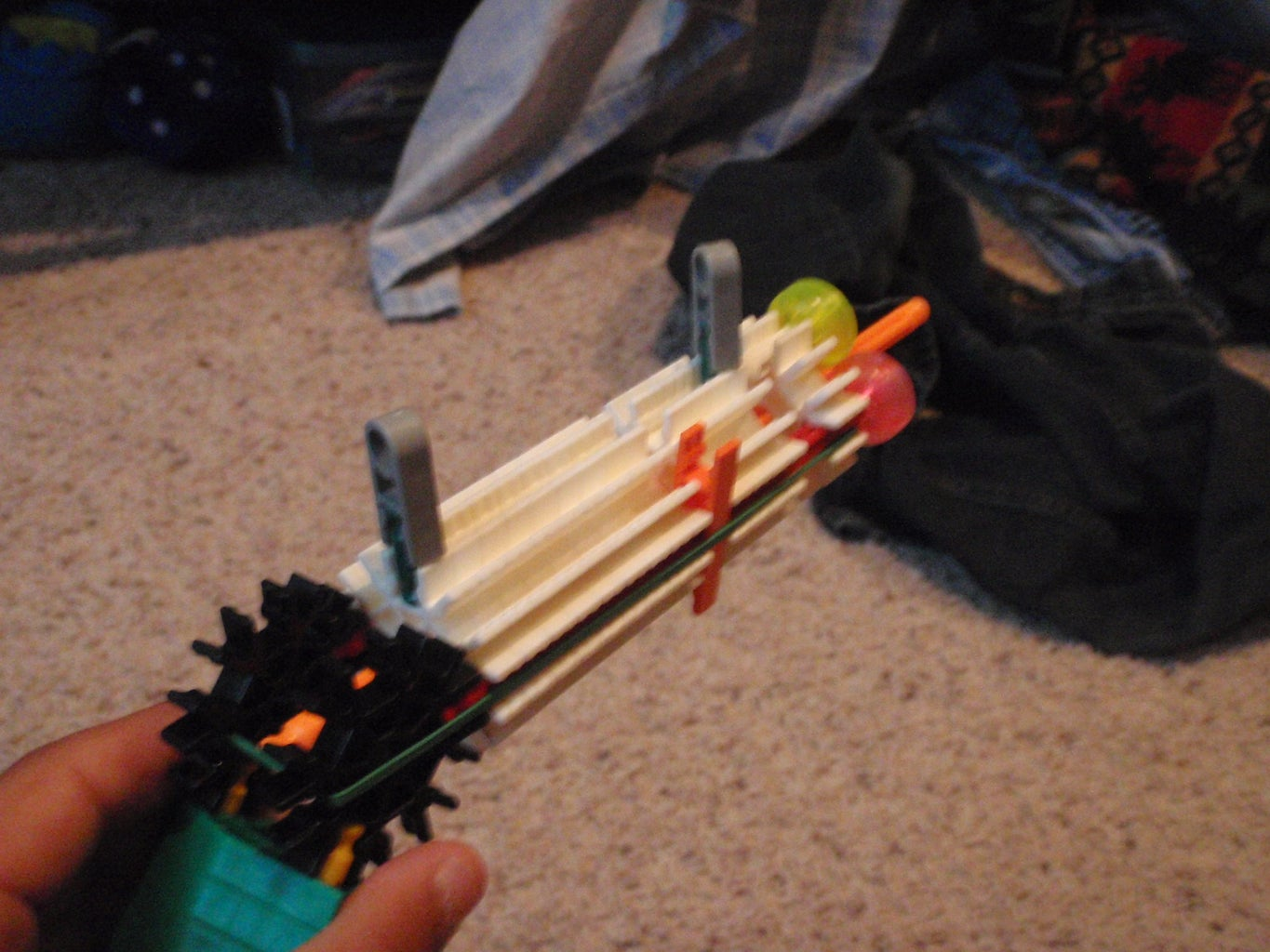 Rubber Band, Decorations, and Firing