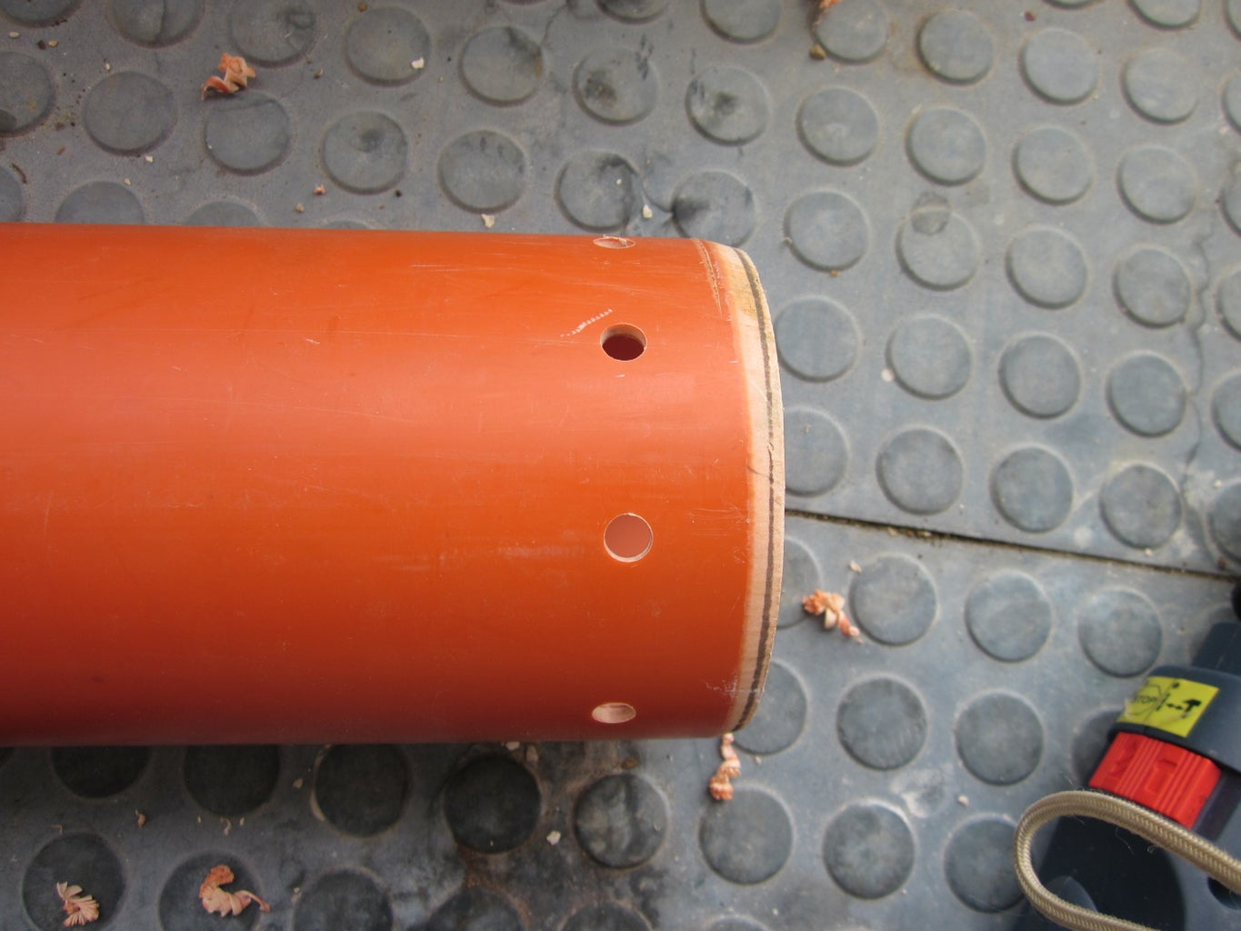 Drill Some Holes to Bottom of the Pipe