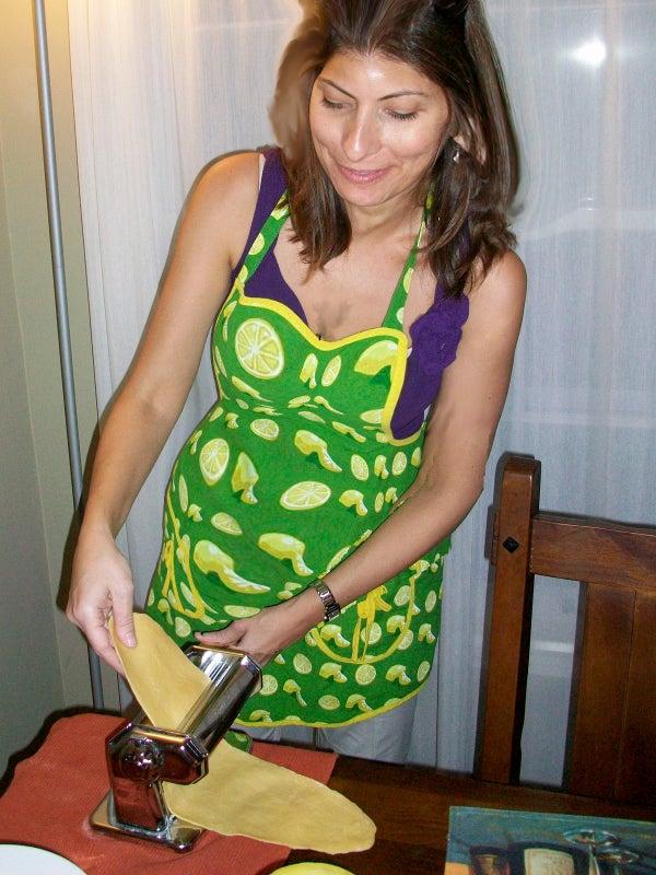 Pasta Making Table
