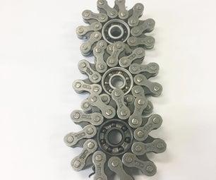 DIY Bike Chain Fidget Spinner