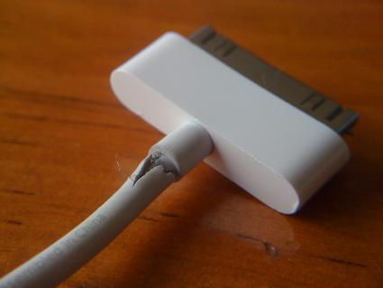 Fix IPhone, IPad, IPod Frayed Cords W. PlastiDip