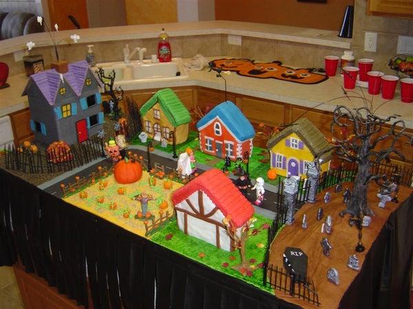 Animated Halloween Cake