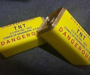 WW2 -1/2 Pound TNT Charge Prop