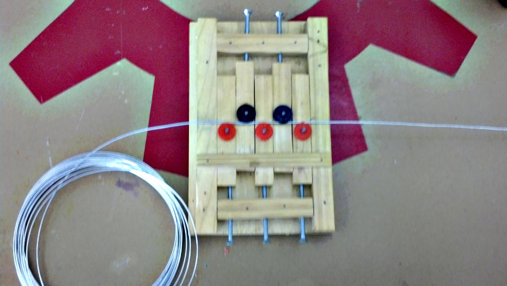Wire Straightener - I made it at TechShop