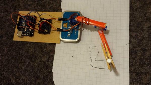 Arduino 2 Axis Plotter