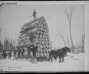 How to Make a Cool Vintage Logging Portrait