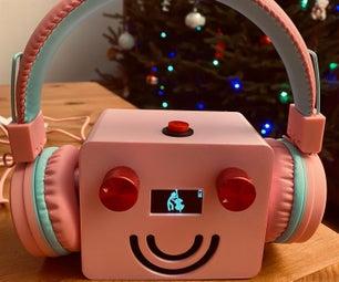 Musical Robot for Kids / Robot Musical Pour Enfants (bilingue)