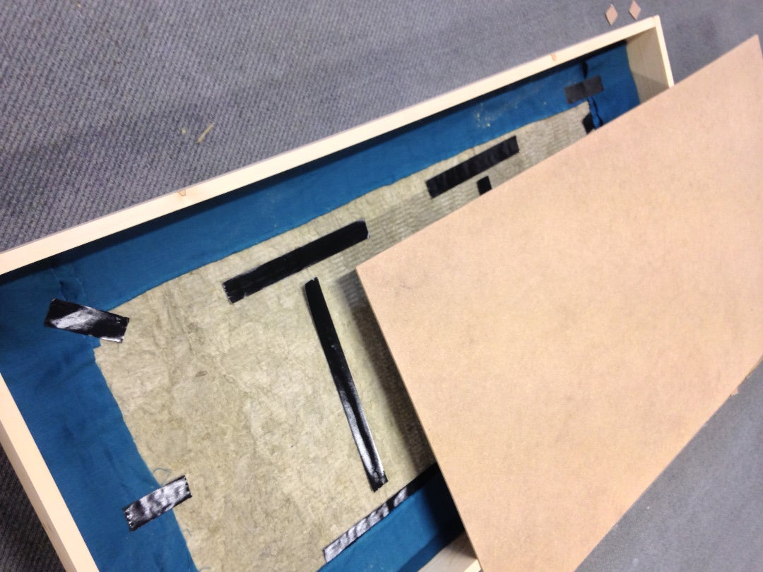 MDF Board in the Middle