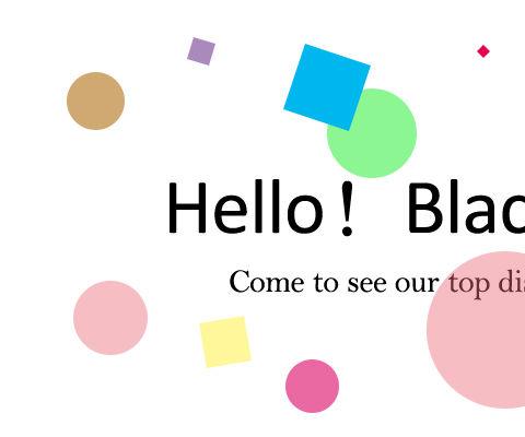 Hello! Black Friday